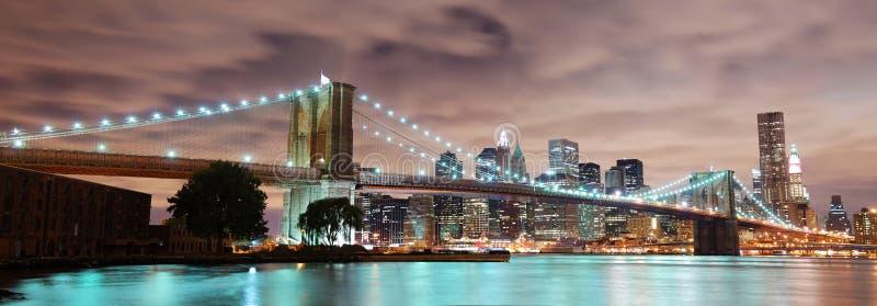 New York City panorama stock photos