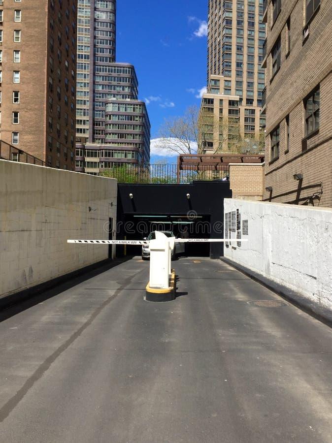 Parking Garage, New York City Stock Photo