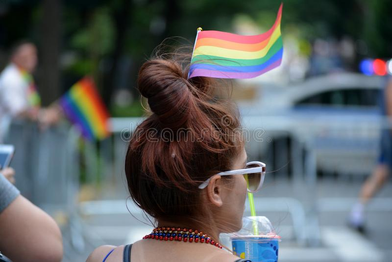 New York City Pride Parade images stock