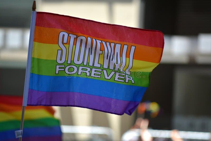 New York City Pride Parade image stock