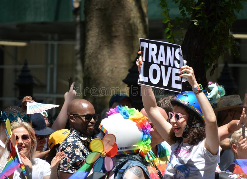 New York City Pride Parade image libre de droits
