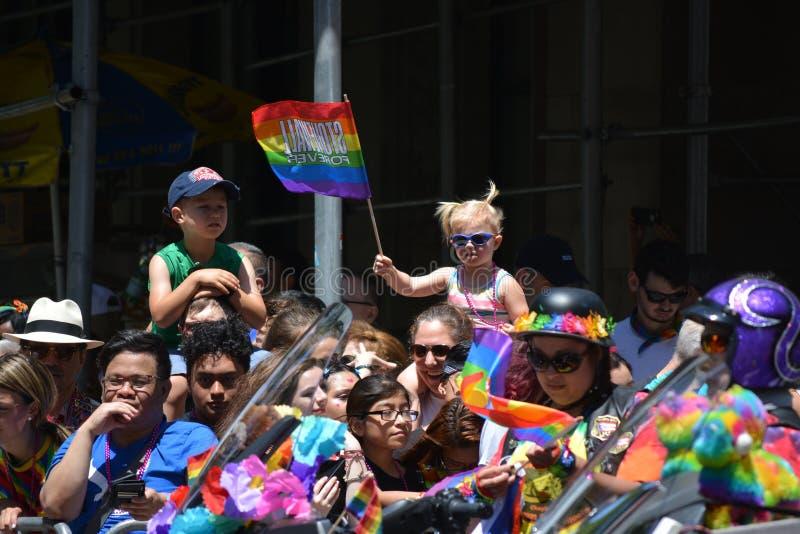 New York City Pride Parade photo stock