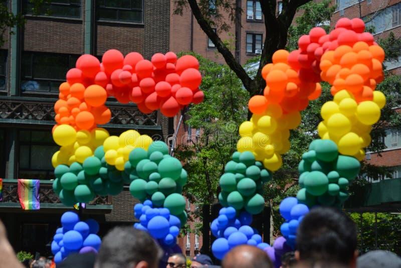 New York City Pride Parade photos libres de droits