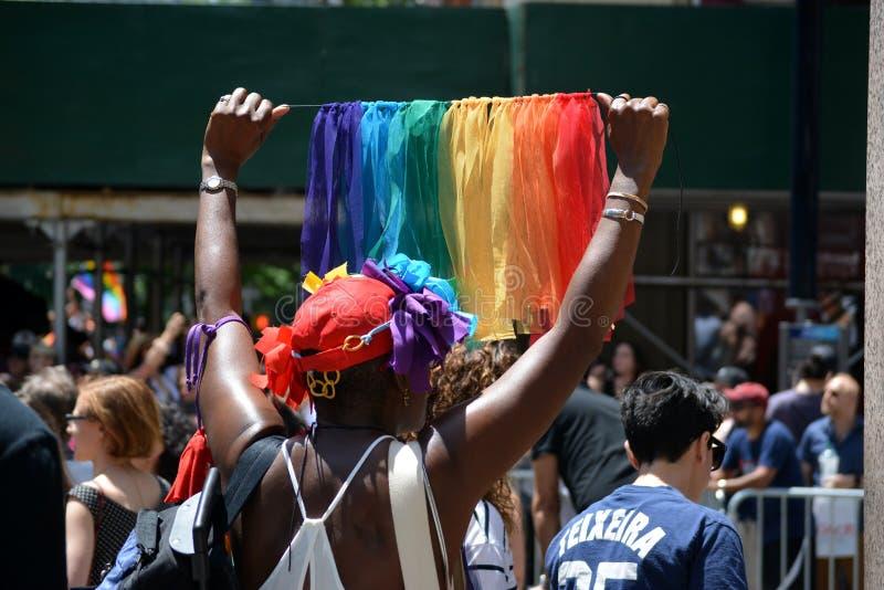 New York City Pride Parade foto de stock royalty free