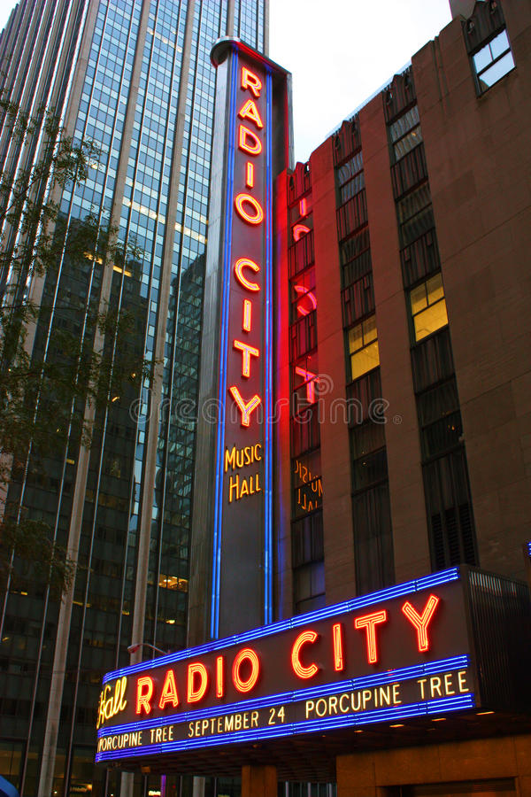Download New York City Radio City Music Hall Editorial Image - Image: 16182580