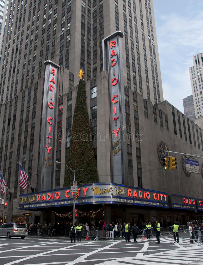 Download New York City Radio City Music Hall Editorial Stock Image - Image: 17315789