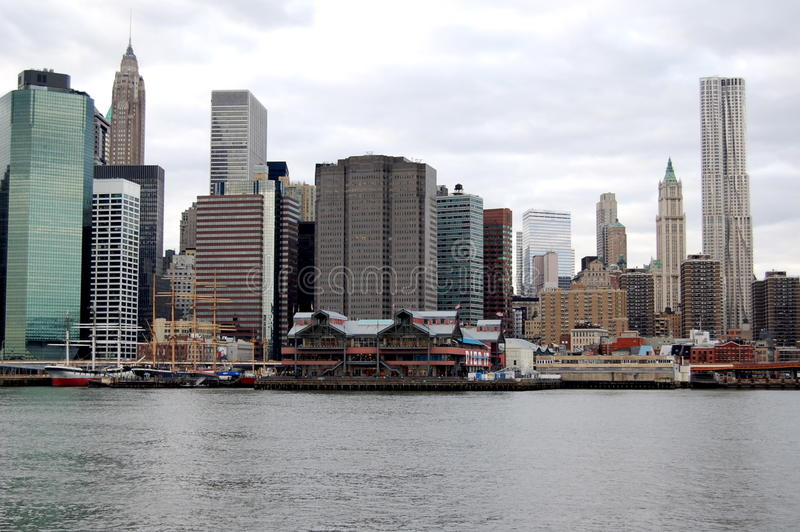 Download New York City's South Street Seaport Editorial Stock Photo - Image: 17728273
