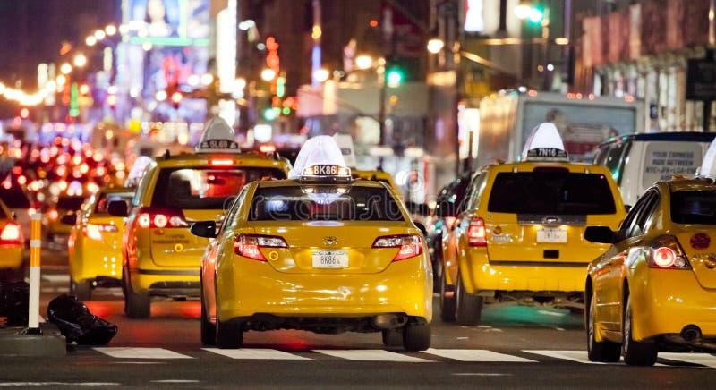 NEW YORK CITY - SEPT 22: Avenida oito imagens de stock