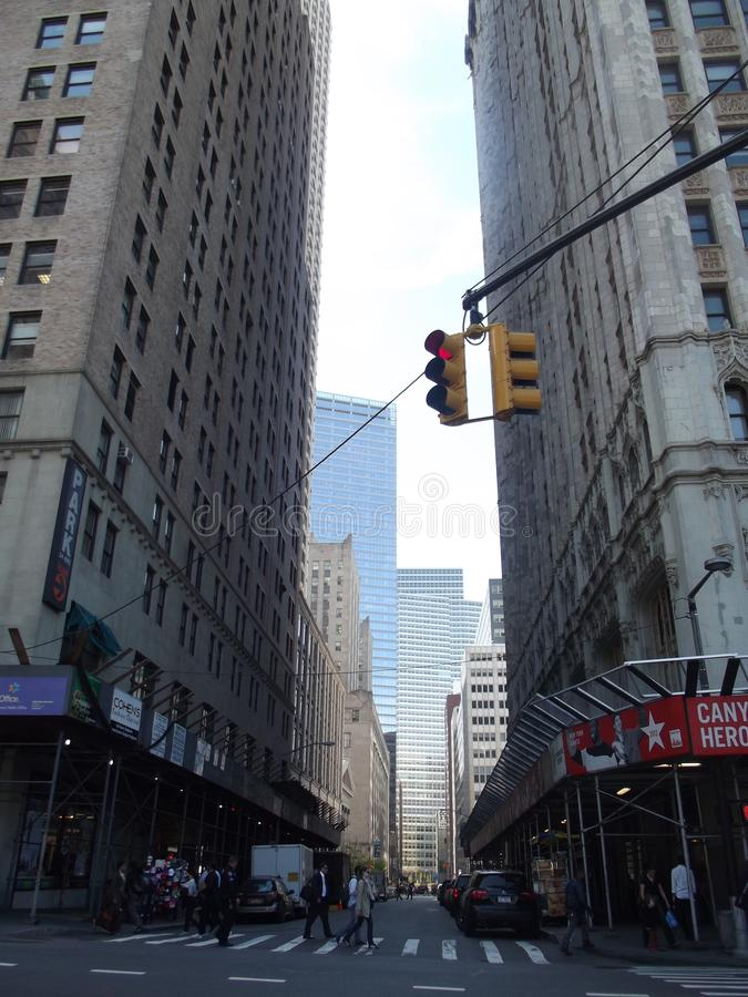New York City skönhet royaltyfri fotografi