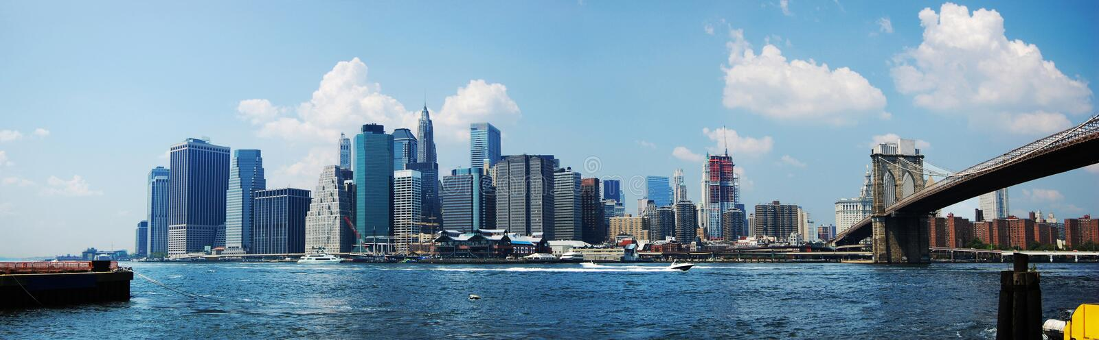 Download New York City Skyline stock image. Image of architecture - 14965359