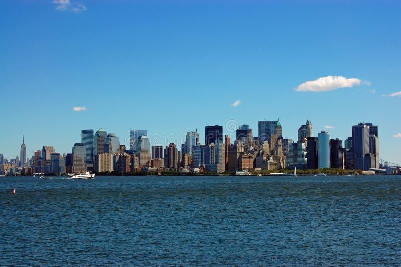 New York City Skyline stock image