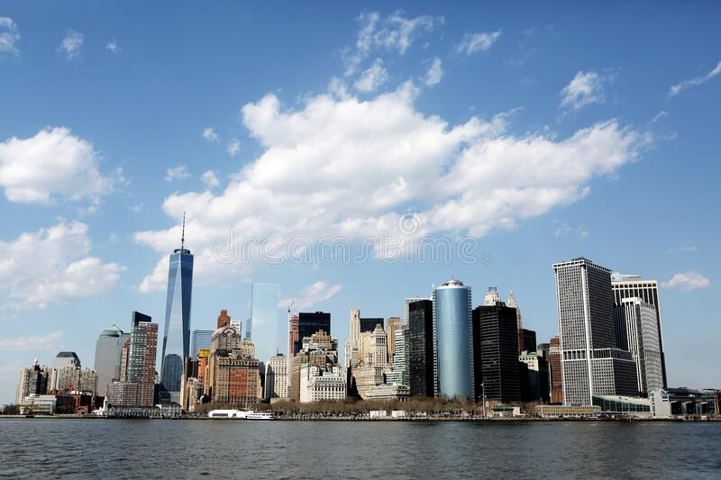 New York City Skyline Free Public Domain Cc0 Image