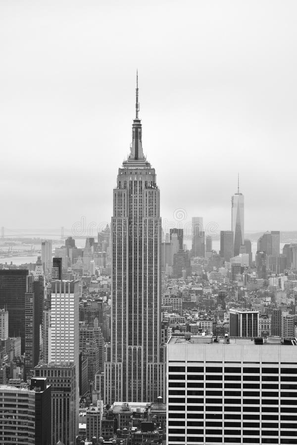 New York City Skyline stock image