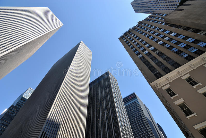 Download New York City Skyscrapers stock image. Image of buildings - 14851339