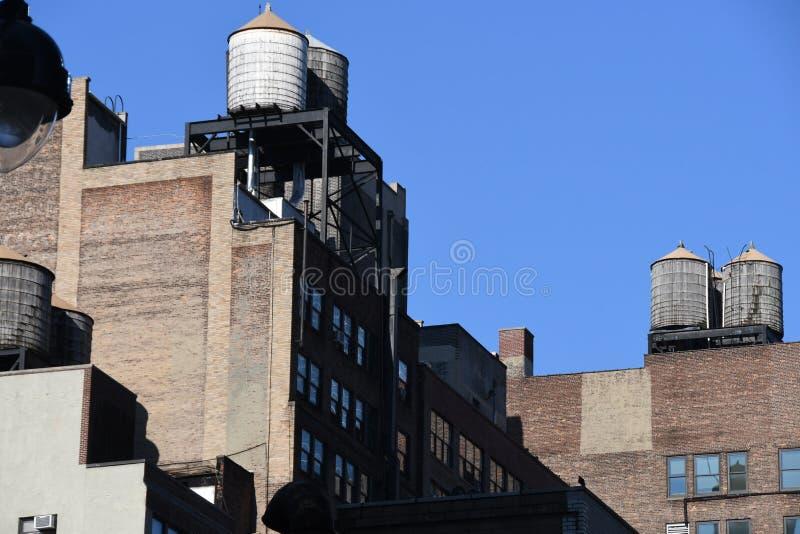 New York City skyscraper in Midtown Manhattan. New York City skyscrapers is located in Midtown part of Manhattan stock photos
