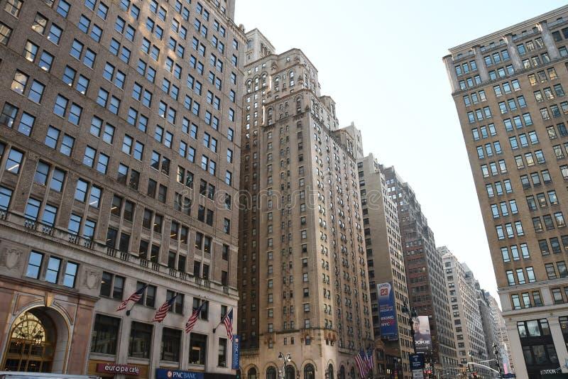 New York City skyscraper in Midtown Manhattan. New York City skyscrapers is located in Midtown part of Manhattan royalty free stock image