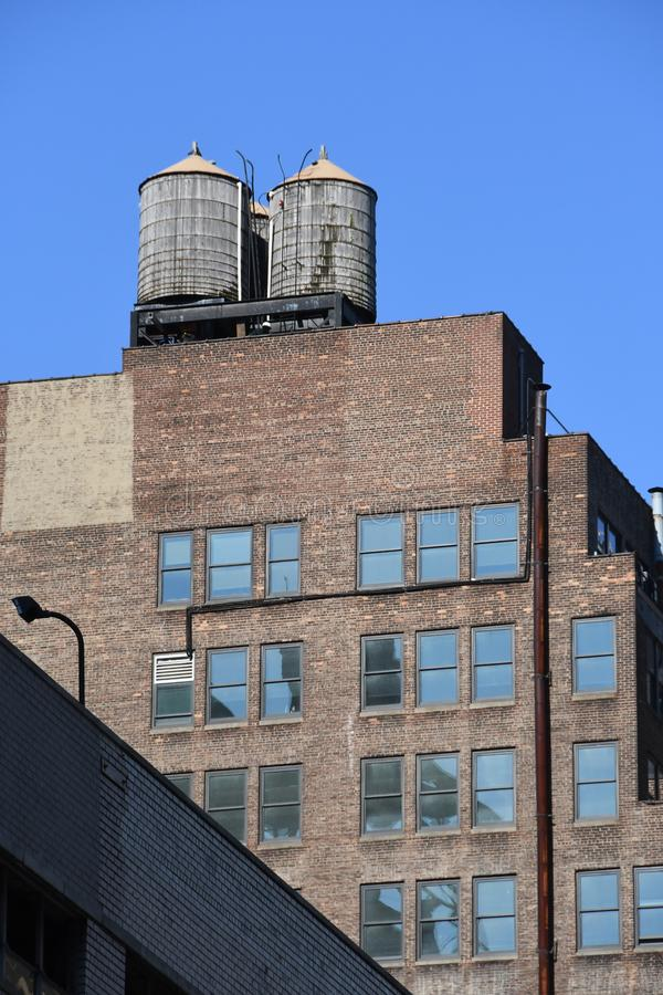New York City skyscraper in Midtown Manhattan. New York City skyscrapers is located in Midtown part of Manhattan royalty free stock photography