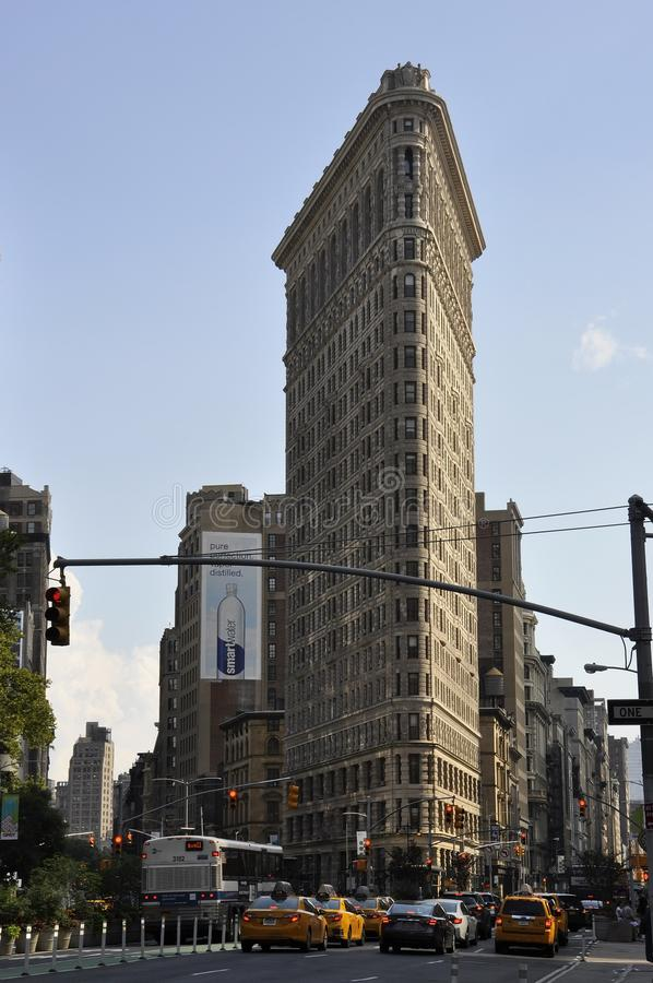 New York City,1st July: Flatiron Building in Midtown Manhattan from New York City in United States stock photos