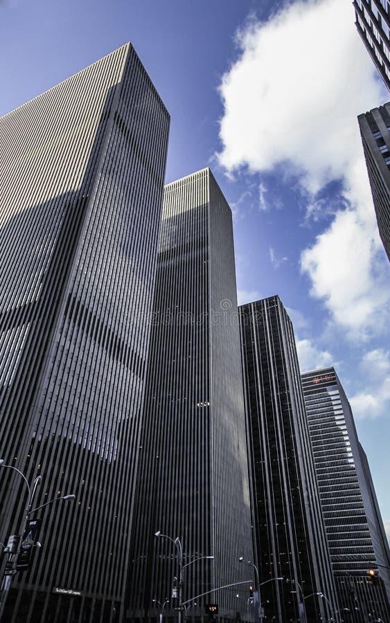 New York City - Straßen-Ansicht stockfotografie