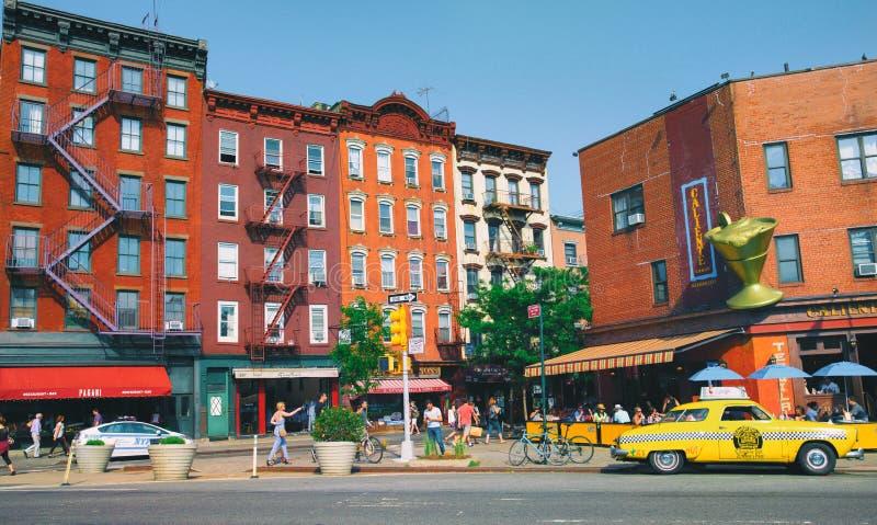 New York city street royalty free stock image