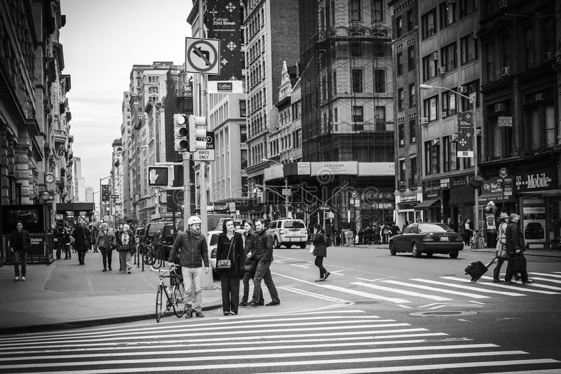 Download New York City Street View - Flatiron District Editorial Photography - Image: 33621182
