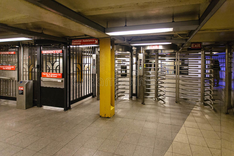 New York City Subway royalty free stock photography