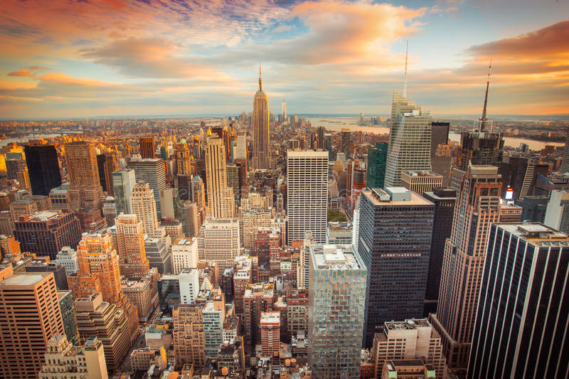 Download New York City stock photo. Image of skyline, urban, landmark - 41666282