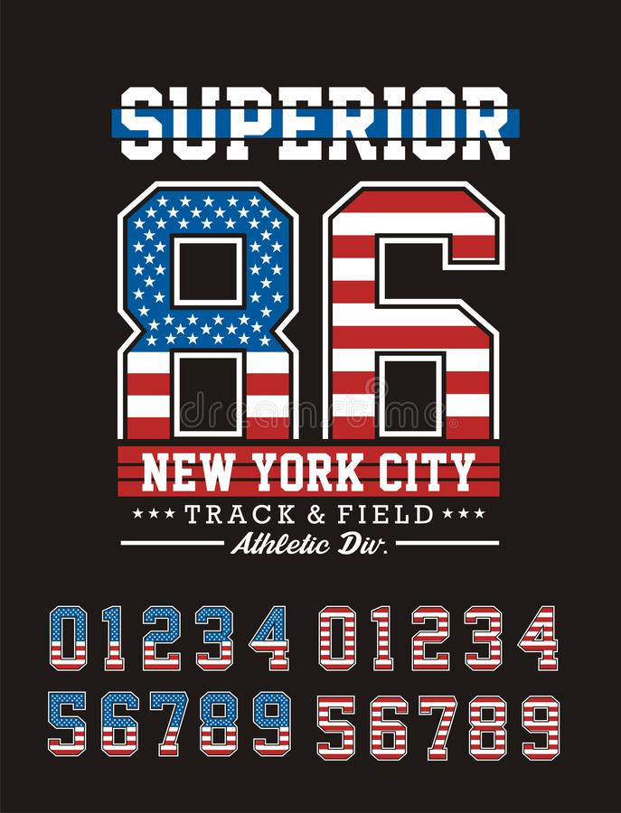 New York City superior atlético libre illustration