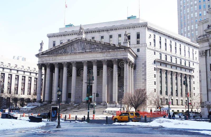 New York City Supreme Court royalty free stock photos