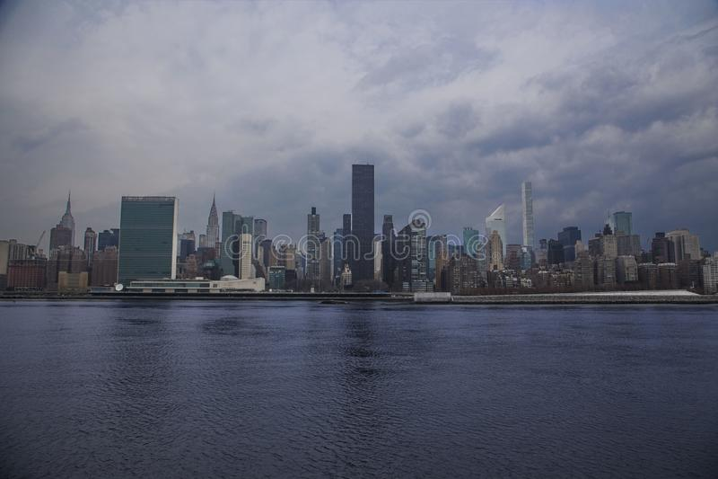 New York City Syline images stock