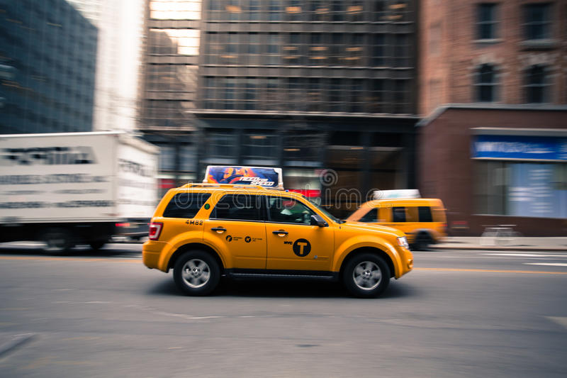 New York City Taxi royalty free stock images