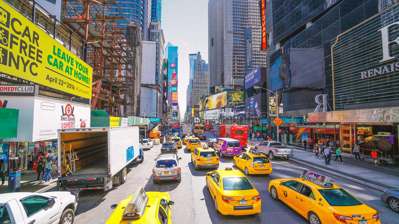 New York City - Times Square royalty free stock photos