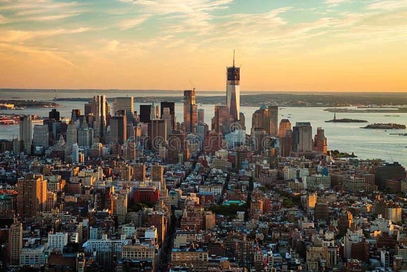 NEW YORK CITY - um World Trade Center fotografia de stock