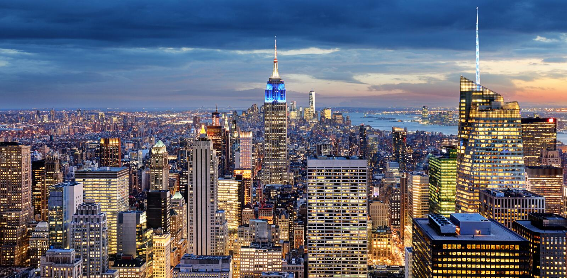 New York City, USA stock image