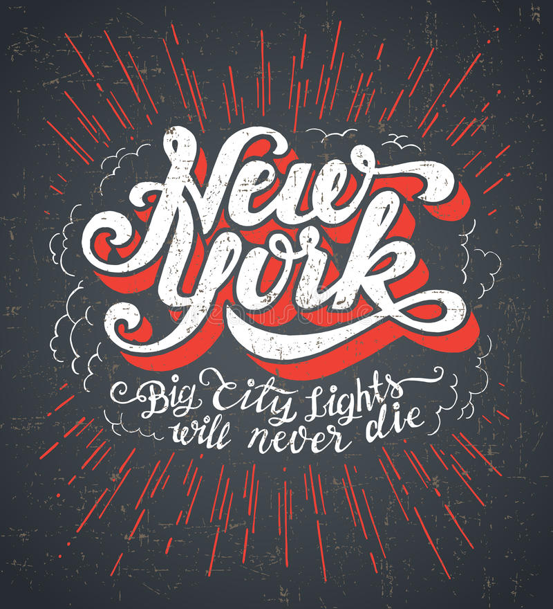 New York city vector illustration