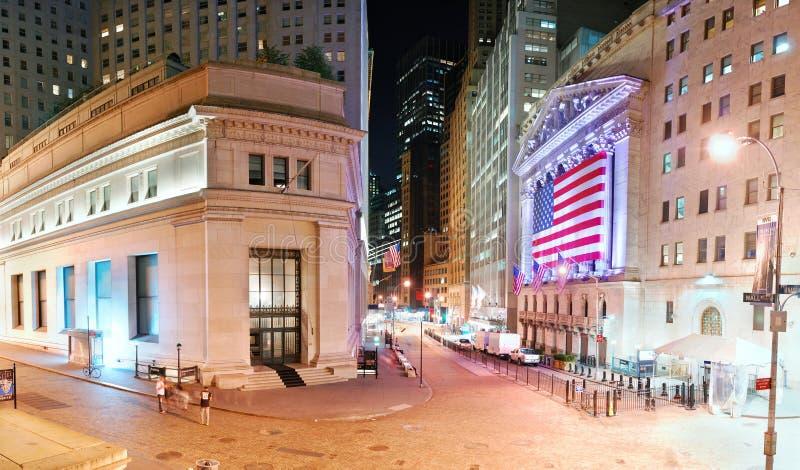 New York City Wall Street Editorial Stock Photo