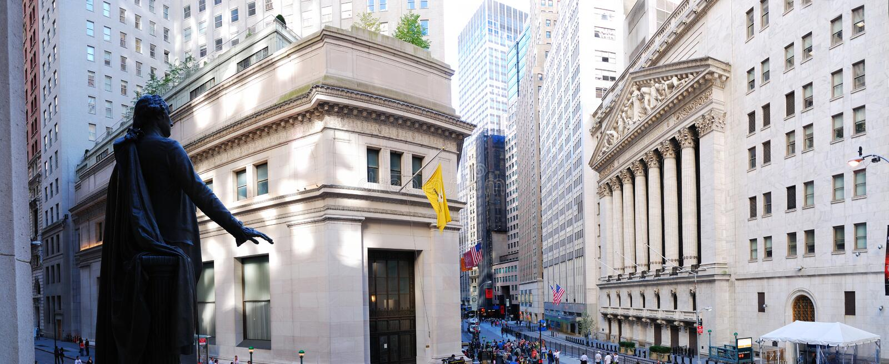 New York City Wall Street photos stock