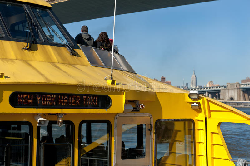 Download New York City Water Taxi Editorial Image - Image: 22015680