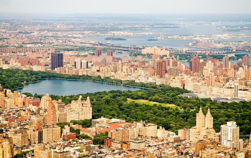 New York City y Central Park imágenes de archivo libres de regalías