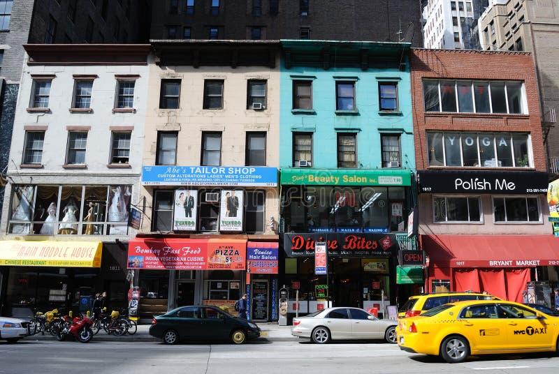 New- York Cityeinheimisch-Geschäfte lizenzfreie stockbilder
