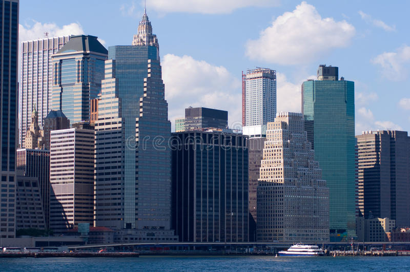 New- York Cityhafen lizenzfreies stockfoto