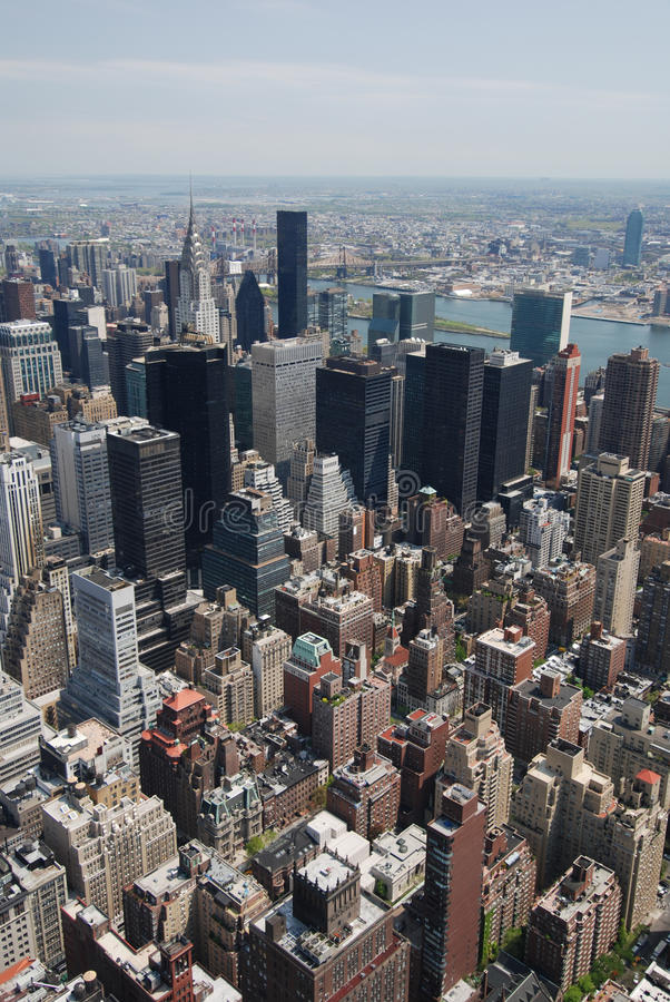 New York cityscape arkivbild