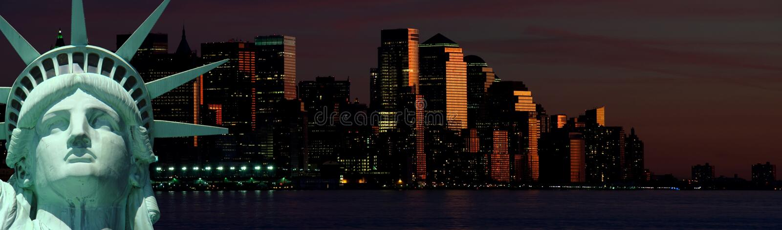 New york cityscape, tourism concept photograph stock photography