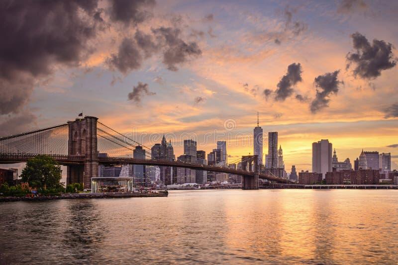 New- York CitySkyline lizenzfreies stockfoto