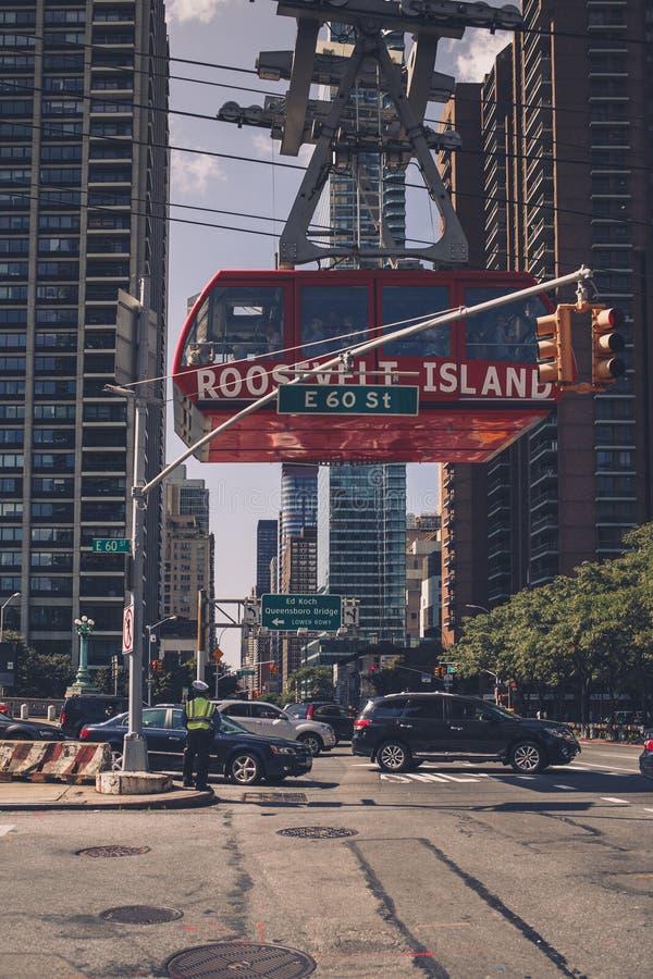 New- York Citystraßen lizenzfreie stockbilder