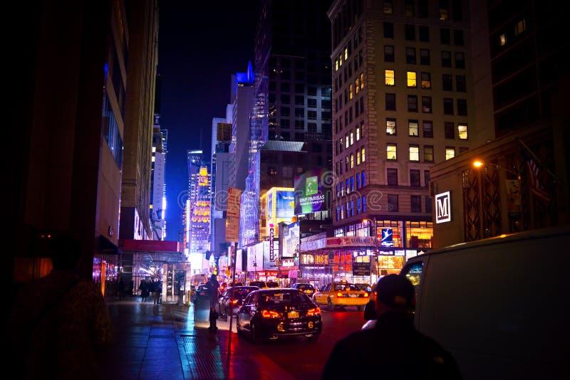 New- York Citytimes square lizenzfreie stockfotos