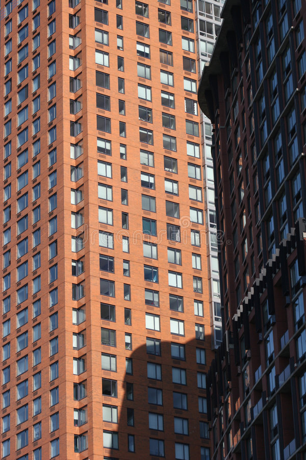 New- York Citywolkenkratzer lizenzfreie stockbilder