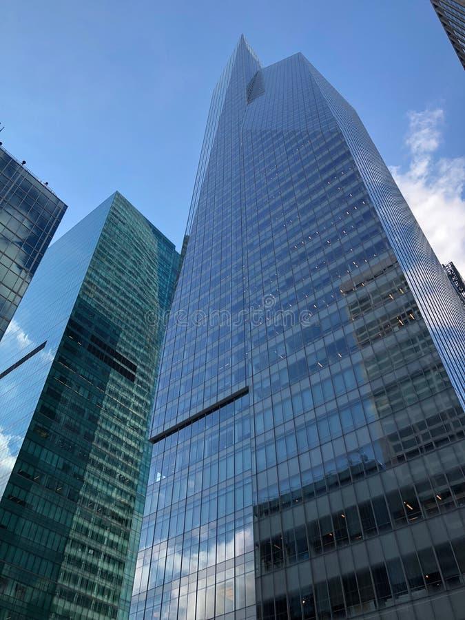 New- York Citywolkenkratzer in Midtown Manhattan lizenzfreie stockfotos