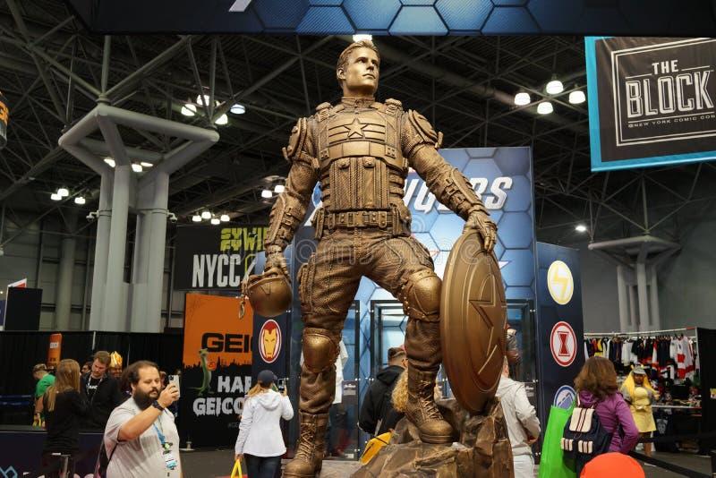 The 2019 New York Comic Con Sunday 33 royalty free stock photos