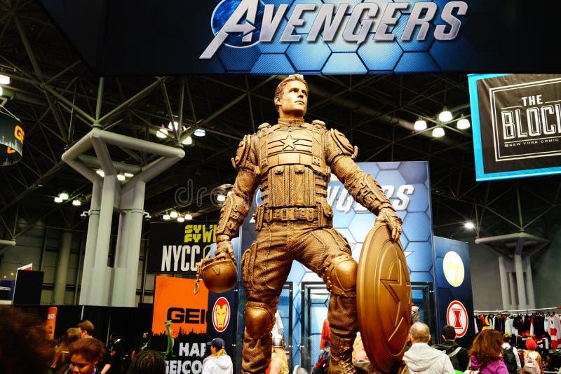 The 2019 New York Comic Con Sunday 29 stock image